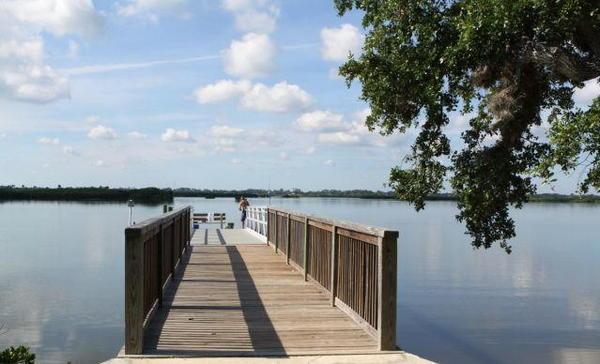 Indian River Lagoon Park New Smyrna Beach Fl
